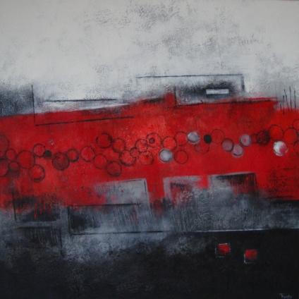 Afmeting: 100 x 100 cm [#106]