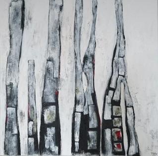Afmeting: 100 x 100 cm [#114]