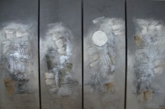 Afmeting: 30 x 80 cm (vierluik) [#70]