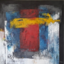 Afmeting: 100 x 100 cm [#123]