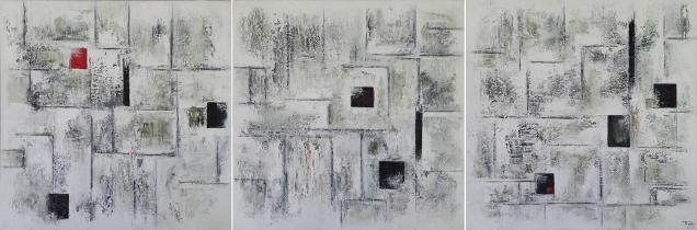 Afmeting: 150 x 50 cm (drieluik) [#116]